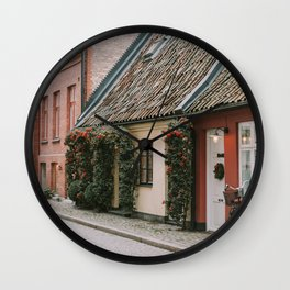 Christmas in Malmo Wall Clock