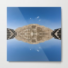 Pyramid of the Moon, Mexico Metal Print