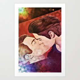 Chase and Terrence Art Print