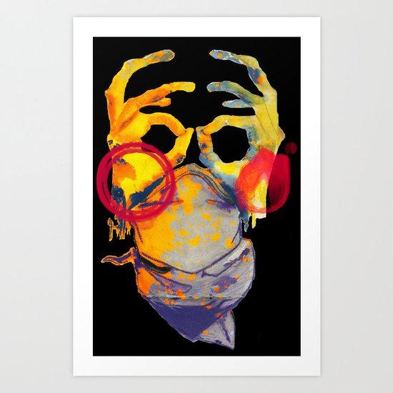 Phantom Hands Art Print