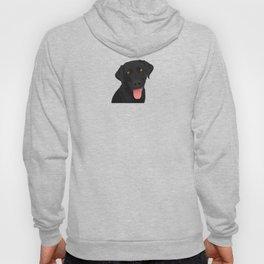 Cute Black Lab Hoody