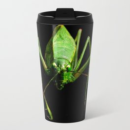 Green Katydid Travel Mug