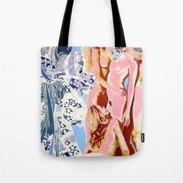 Birth of Afrodite Tote Bag