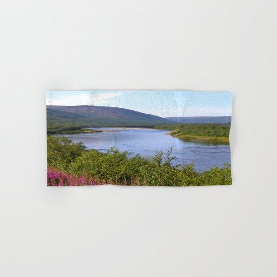 River Landscape Hand & Bath Towel