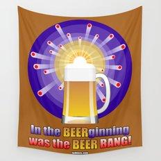 The Beer Bang! Wall Tapestry