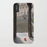 ballon iPhone & iPod Cases featuring Red Ballon by Danielle W