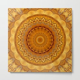 Mandala fairness  Metal Print