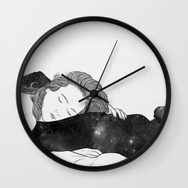 The feeling is indescribable Wall Clock