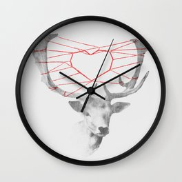 How are you dearie Wall Clock