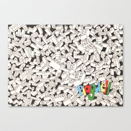 LEGO: Playwell.  Canvas Print