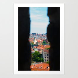 A peek through my eyes Art Print