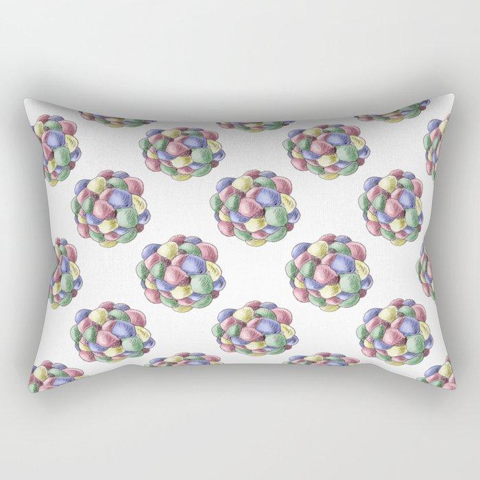 Everlasting gobstopper Rectangular Pillow