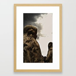 thousand years series (mother) Framed Art Print