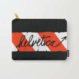 Helvetica Street Cred Carry-All Pouch