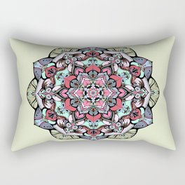 Flowers mandala #38 Rectangular Pillow