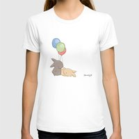balloons T-shirts featuring Balloons by Jess Wong