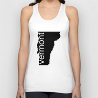 vermont Tank Tops featuring Vermont by Isabel Moreno-Garcia