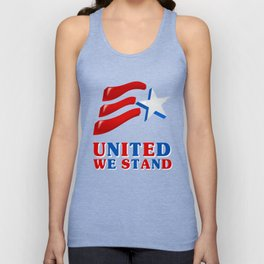 United We Stand - Patriot/Independence Day Unisex Tank Top