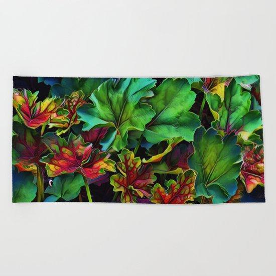 Colorful Color Beach Towel