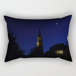 Charleston SC No.1 Huguenot Church Rectangular Pillow