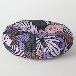 Night palm Floor Pillow