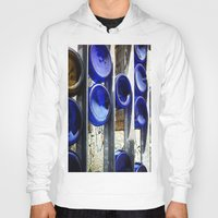 glass Hoodies featuring Glass by Blue Lightning Creative