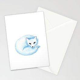 Winter Animals Print Stationery Cards