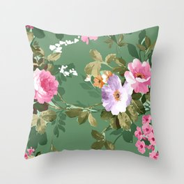 The perfect flowers for me 9 Throw Pillow
