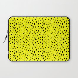 Yellow Cheetah Pattern Laptop Sleeve
