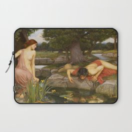 John William Waterhouse - Echo and Narcissus Laptop Sleeve