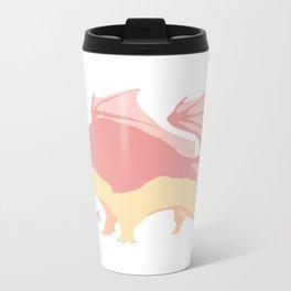 Sherbert Dragon Metal Travel Mug