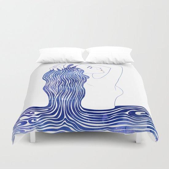 Water Nymph XXXIX Duvet Cover