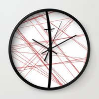 kill la kill Wall Clocks featuring Kill La Kill - Bakuzan by joyeuse