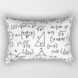 Math Madness Rectangular Pillow