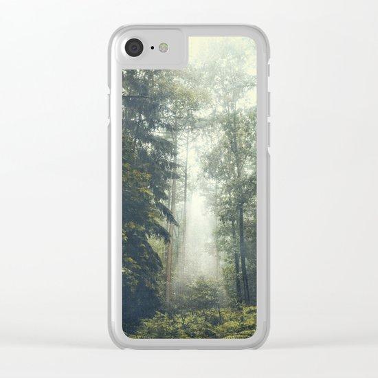 Jungle II Clear iPhone Case