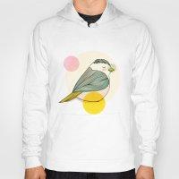 nan lawson Hoodies featuring Little Bird by Nan Lawson