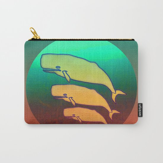 I am a Nature Lover / Whales Carry-All Pouch