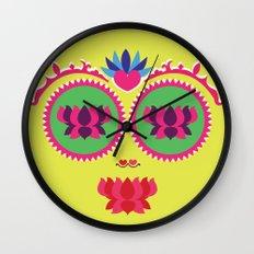 Indian face Wall Clock