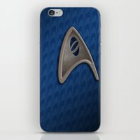 science iPhone & iPod Skins featuring Science by BinaryGod.com