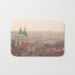 Prague / Praha cityscape Bath Mat