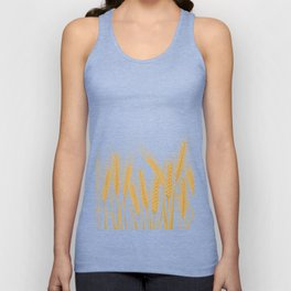 Ears of wheat Unisex Tank Top