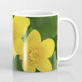 Marsh Marigold Caltha Palustris Coffee Mug