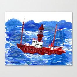 The Kentish Knock. Canvas Print