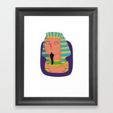 Pharaoh Framed Art Print