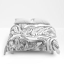 Entangled City Comforters
