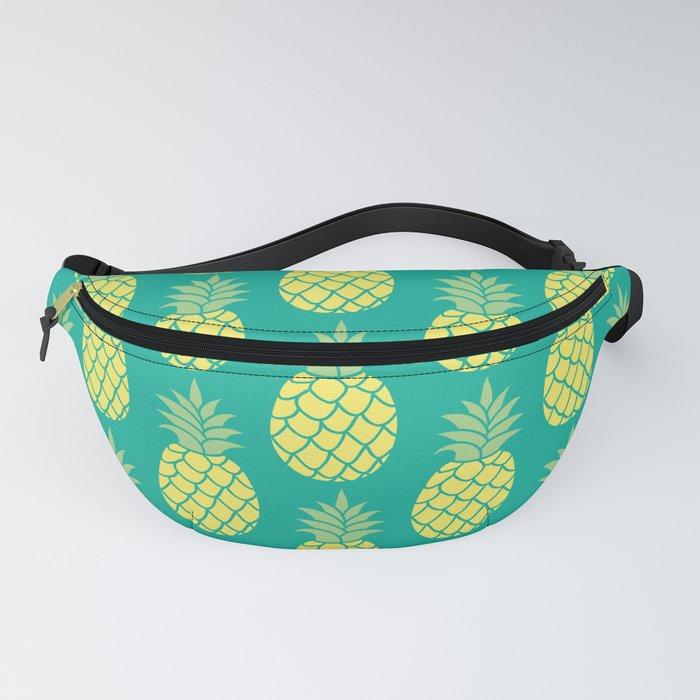 Summer Pineapple Pattern Fanny Pack