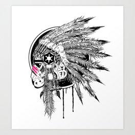 Headshot ! Art Print