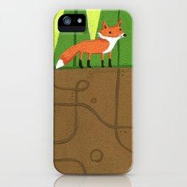 Earth Fox iPhone Case