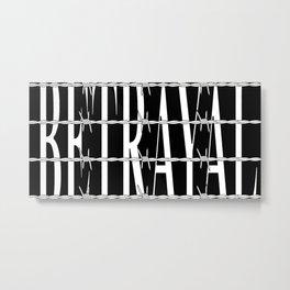 Betrayal Metal Print