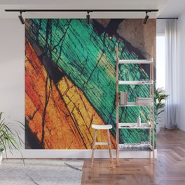 Epidote and Quartz Wall Mural